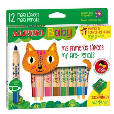 12 lápices Alpino Baby AL000177