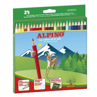 24 lápices de color Alpino AL010658