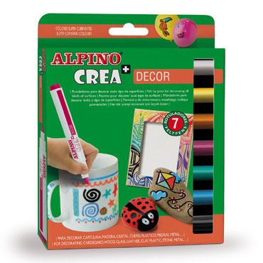 7 rotuladores Crea + Decor Alpino AR000133
