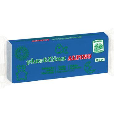 12 barras plastilina 150 g. azul Alpino DP000074
