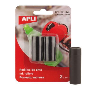 Rcambio rollo de tinta etiquetadora 1 línea Apli  101558