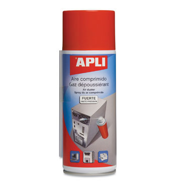 Aire comprimido normal 400 ml. Apli 11297