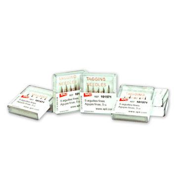 CJ5 agujas para etiquetadora textil para navettes fina Apli 101571