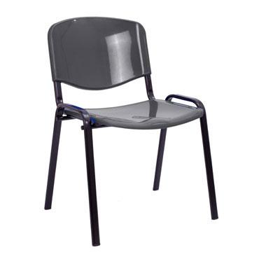 4 sillas colectividad MERLO grises Archivo 2000