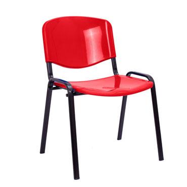 4 sillas colectividad MERLO rojas Archivo 2000