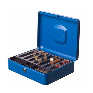 Caja de caudales azul Archivo 2000