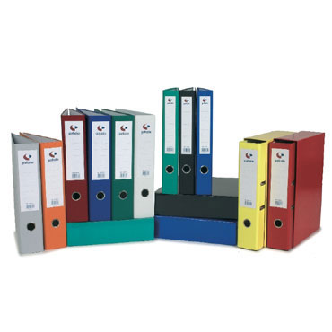 Archivador grafcolor Folio negro Grafoplás