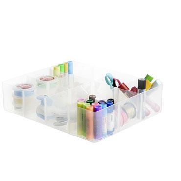 Bandeja plástico 12 compartimentos Archivo 2000