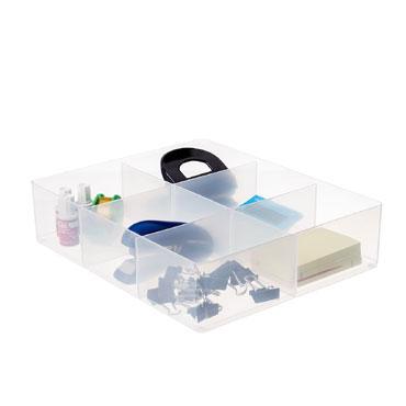 Bandeja plástico 6 compartimentos Archivo 2000