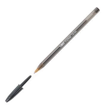 Bolígrafo Bic Cristal grueso negro 880648