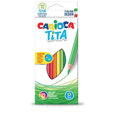 12 lápices de color Tita Carioca 42793