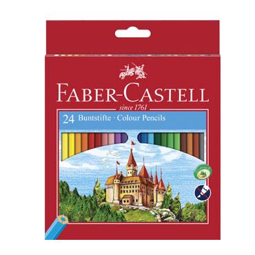 24 lápices de color Castillo Faber Castell 120124