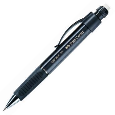 Portaminas Grip Plus 0,7 mm. negro Faber Castell 1307-33