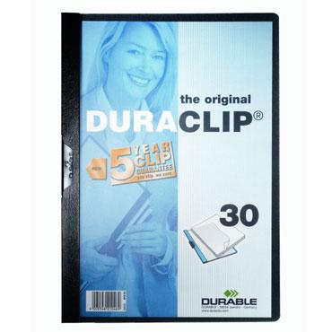 Carpeta Duraclip 30HJ Din A-4 negro Durable 2200-01