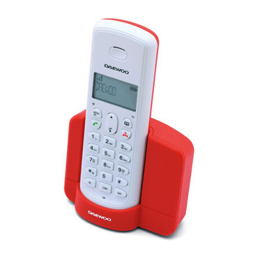 Teléfono DTD-1350 rojo Daewo DW0086