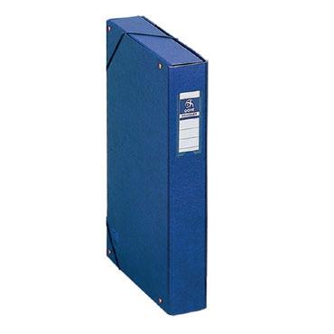 Caja proyectos lomo 5 cm. azul Dohe 09728