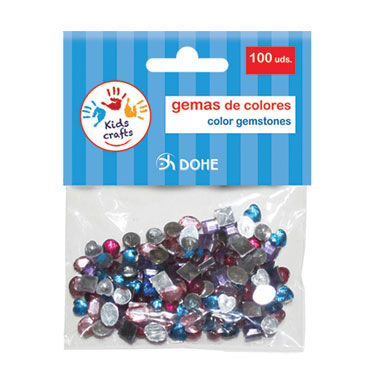 100 gemas de colores Dohe 18109