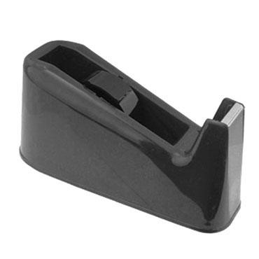 Portarrollos cinta adhesiva negro Dohe 79301