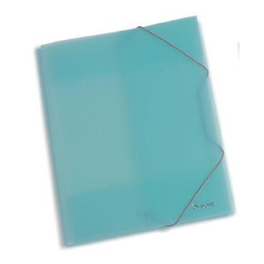 Carpeta gomas PP Din A-4 azul Dohe 90404