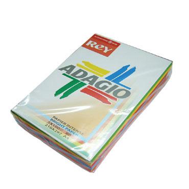 PQ500 papel azul intenso 80 g/m² Din A-4 Adagio 30219