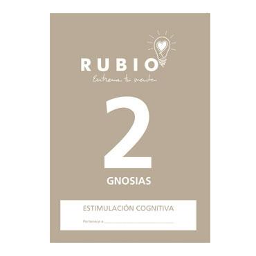 Cuaderno Rubio A4 Estimulación Cognitiva Gnosias Nº 2 12602111