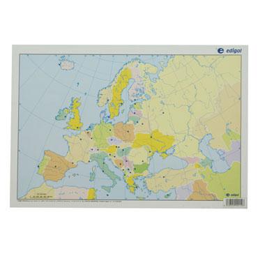 50 láminas color Europa político 21601051