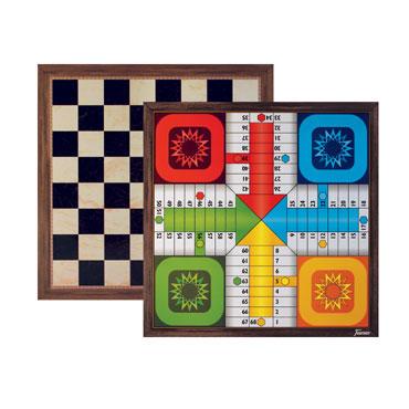 Tablero de parchís y ajedrez 25001381