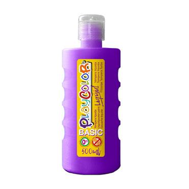 Bote 500 ml. témpera líquida violeta Playcolor 19441