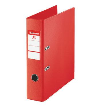 Archivador plástico rojo Folio Esselte