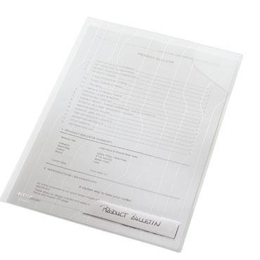 5 dossiers Combifile Din A-4 transparentes Esselte  47260003