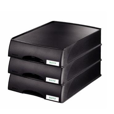 Bandeja Plus con cajón negra Esselte  52100095
