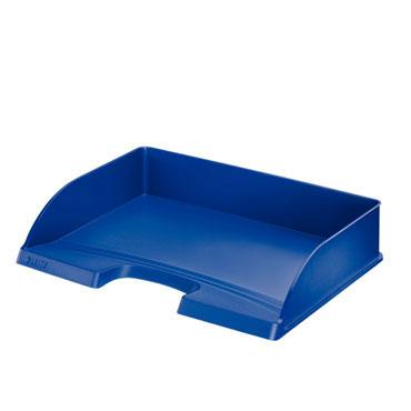 Bandeja documentos apaisada azul Leitz