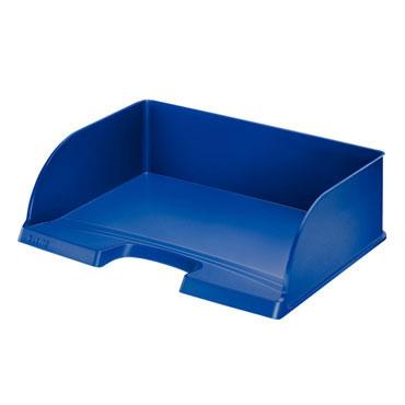 Bandeja documentos apaisada Jumbo azul Leitz