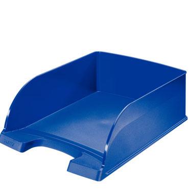 Bandeja documentos Jumbo azul Leitz