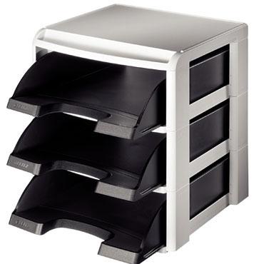 Módulo bandejas negro Leitz 53270095