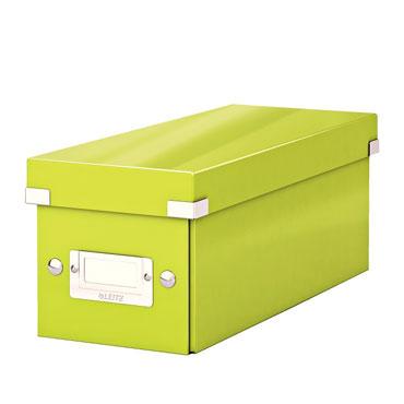 Caja Click & Store 30 CD's verde Leitz 60410064