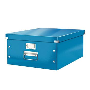 Caja Click & Store Din A-3 azul Leitz 60450036