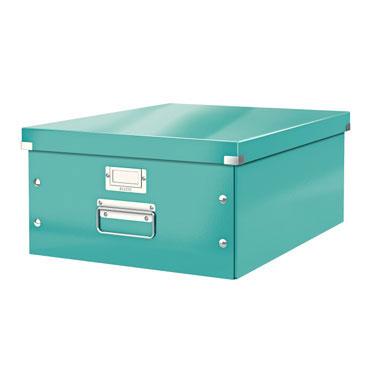 Caja Click & Store Din A-3 turquesa Leitz
