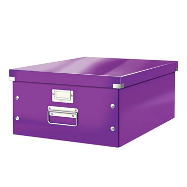 Caja Click & Store Din A-3 violeta Leitz 60450062