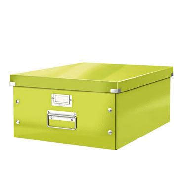 Caja Click & Store Din A-3 verde Leitz