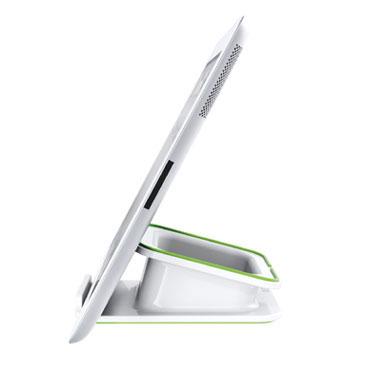 Soporte sobremesa iPad/Tablet blanco Leitz