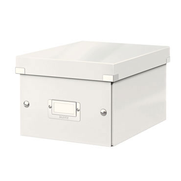 Caja Click & Store 20 DVD's blanca Leitz