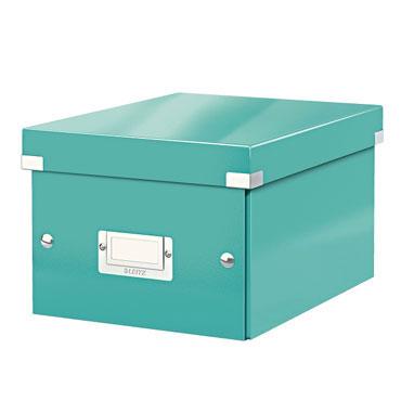 Caja Click & Store Din A-5 turquesa Leitz