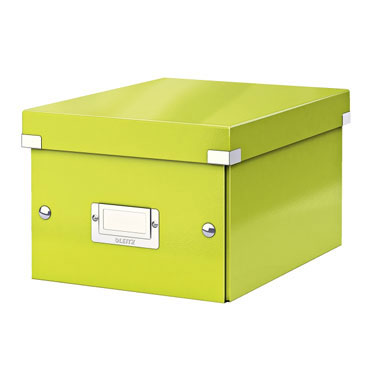 Caja Click & Store Din A-5 verde Leitz 60430064