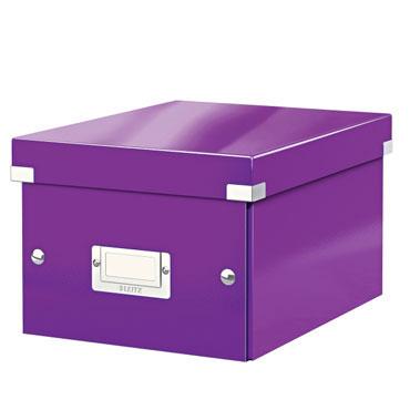 Caja Click & Store Din A-5 violeta Leitz