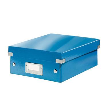 Caja Click & Store pequeña azul Leitz