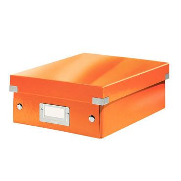 Caja Click & Store pequeña naranja Leitz 60570044