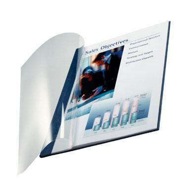 10 tapas ImpressBind Leitz flexibles azules AA  73980035