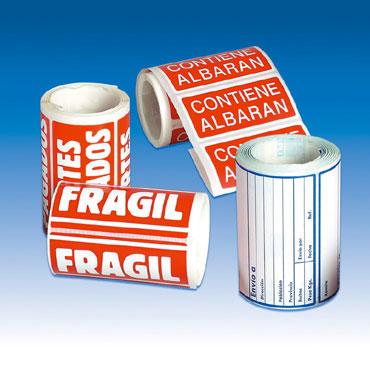 RLL200 Etiqueta FRAGIL 50x100 mm. Apli 00296