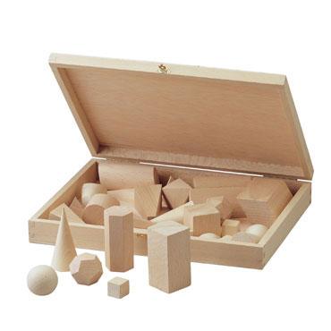 30 cuerpos geométricos con cubo de 4 cm. Faibo 25-2